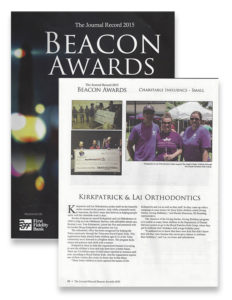 tulsa-orthodontist-Beacon Awards - KLOrtho